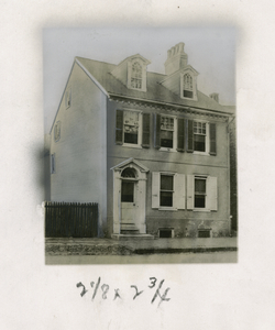 Woolman's Shop, 47 Mill Street, Mount Holly, N.J.