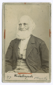 [William Cullen Bryant.]