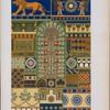 Art assyrien : motifs de polychromie.
