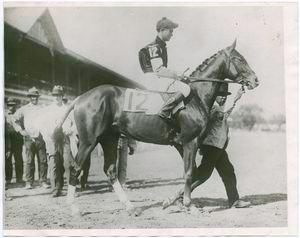Clyde Van Dusen, winner of the Kentucky Derby, 1929