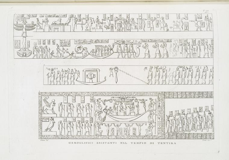 This is What Temple of Hathor Looked Like  in 1808
