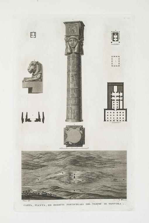 Fascinating Historical Picture of Temple of Hathor in 1808