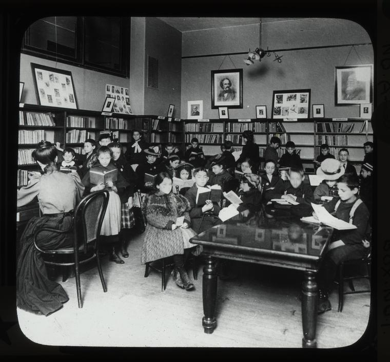 Aguilar F. C. L., East Broadway Branch, children's room