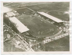 View of the Pershing Stadium at Paris