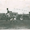 """Soccer Match Between the New York """"Giants"""" and the Bethlehem Steel Team, 1928"""