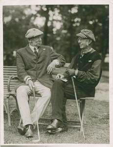 Horace L. Hotchkiss (left) and the Reverand J. McBride Sterrett