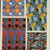 [Four abstract motifs.]
