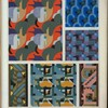 [Six abstract motifs.]