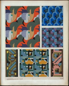 [Six abstract motifs.]