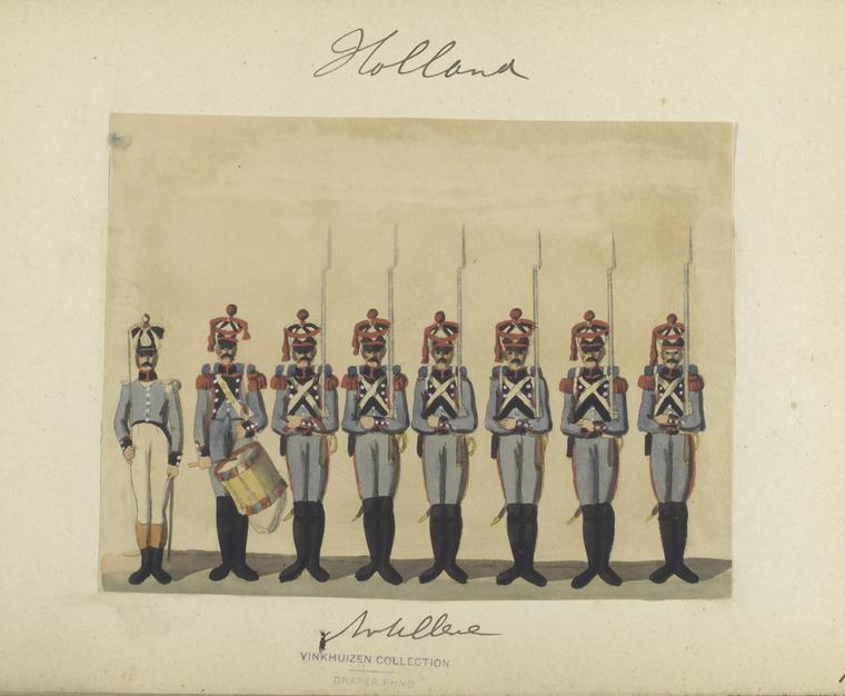 Holland. Artillerie. 1807
