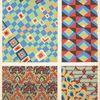 [Four geometric compositions.]