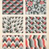 [Six geometric compositions.]