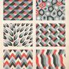 [Six geometric compositions.]