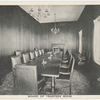 "Board of Trustees Room [Information of bank's goal to attract  ""desirable"" families to move to Staten Island.]"