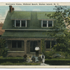 Managers(sic) Home, Midland Beach, Staten Island, N.Y.  [house with family gathered on front porch.]