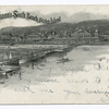 Bachmann's South Beach, S.I., Souvenir  [buildings, pier, sailboats, cameo-type.]