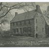 Old Bellopp(sic) House, built 1668, As It Appeared May, 1931, Occupied by Lord Howe During Revolutionary War, Tottenville, S.I., N.Y