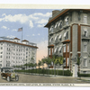 St. Mark's Apartments and Hotel Castleton, St. George, Staten Island, N.Y. [two beautiful old gray and white bldgs.,  with old touring car in street]