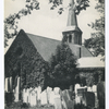 St. Andrew's Church, built 1709-1712, Richmondtown, Staten Island, N.Y. [view of church and cemetery]