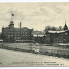 Monroe Eckstein's Brewery, Castleton Corners, S.I.  [ext. factory with children on outside drive:  VERY RARE CARD]