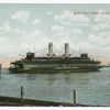 Municipal Ferry Boat, New York [ferry approaching slip]