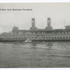 Staten Island-New York Municipal Ferryboat [ferry on water]