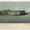 Fort Wadsworth, New York  [view of fort from water]