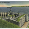 Fort Wadsworth, Staten Island, N.Y. [aerial view of fort and bay from hill]