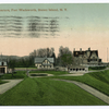 Post Headquarters, Fort Wadsworth, Staten Island, N.Y                     [addressed to someone in Linoleumville, S.I]