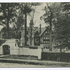 Actors' (sic) Home. West Brighton, Staten Island, N.Y. [entrance gate and building]