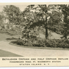 Bethlehem Orphan and Half Orphan Asylum, Fingerboard Road, Ft. Wadsworth Station, Staten Island, N.Y. [view of entrance road and garden]