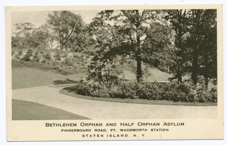 Bethlehem Orphan and Half Orphan Asylum, Fingerboard Road, Ft. Wadsworth Station, Staten Island, N.Y.