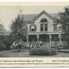 """The """"Victoria"""" Home for Aged British Men and Women, West New Brighton, Staten Island  Under the auspices of the Imperial Order Daughters of the British Empire, U.S.A."""