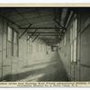 West Corridor Incline from Receiving Ward Toward Administration Building, U.S.A. Debarkation Hospital No. 2, Staten Island, N.Y.
