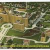 Aerial View, U.S. Marine Hospital, Stapleton, Staten Island, N.Y.