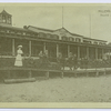 Miller's Hotel, South Beach, Staten Island [people leaning on railing in front of hotel]