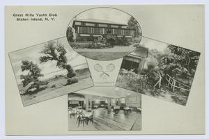 Great Kills Yacht Club, Staten Island, N.Y.  [4 small inset views on front]