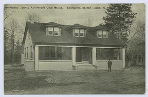 Richmond County Automobile Club House, Eltingville, Staten Island, N.Y.