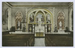 Chapel, St. John's Villa Acade... Digital ID: 104971. New York Public Library