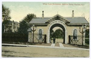 West Gate Driveway, Sailors' Snug Harbor, Staten Island