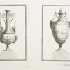 [Two vases decorated with figures.]