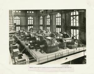 30000-KW. cross-compound turbines in plant of Interborough Traction Co., New York City
