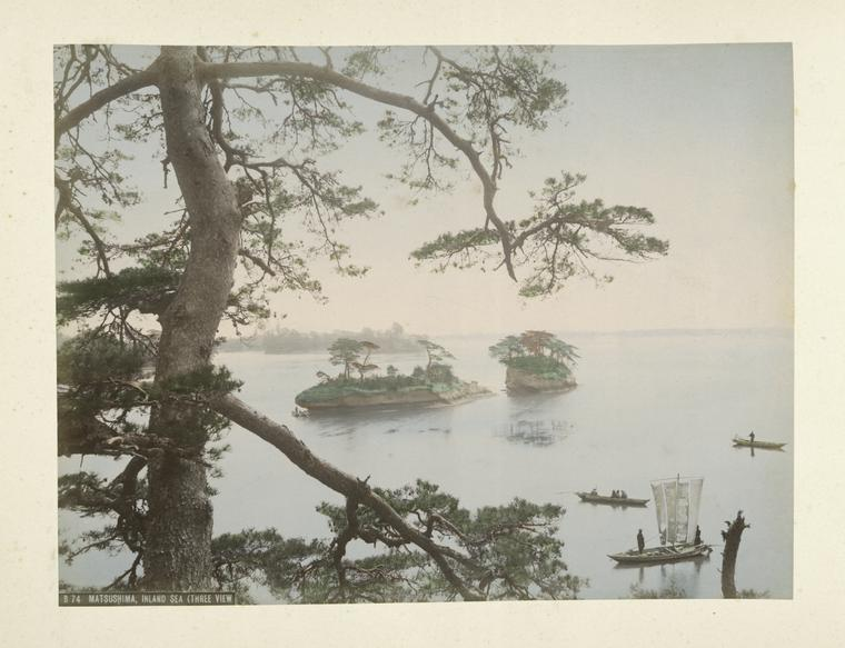 Matsushima Inland Sea (Three View)