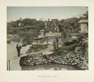 Prince Hotta's Garden at Tokio
