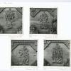 Bali - Den Pasar. Reliefs on wall of Bali Museum complex: (1) Sita; (2) Rama; (3) Rawana; and (4) Sugriwa.