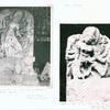 Bali - Kutri. (1) Pura Kedarman, Kutri, Bali. Durga Mahisasuramardini; (2) Durga on Nandi (?), Pura Puseh, Kutri, Gianjar.