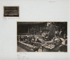 Gamelan. Gendèr teloelas or rambat, Ubud; Gamelan Gong, Sonti, Batue-Boelan. (Photo from Kunst.)