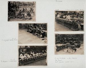 Gamelan, Ubud; Gong Belaluan with Mario, Den Pasar (bottom right).