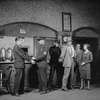 Scene of the arrest of Macready (Charles Bickford) and Capraro (Horace Braham). Sylvia Sidney as Rosalie (extreme right).