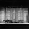 "District Attorney's office (Act II, Scene 1). Set designed by Cirker & Robbins for ""Gods of the lightning"" by Maxwell Anderson & Harold Hickerson. NYC: Little Theatre, 1928."